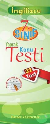 7.Sınıf İngilizce Yaprak Konu Testi (32 Test)