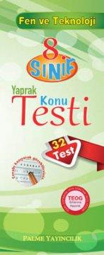 8.Sınıf Fen ve Teknoloji Yaprak Konu Testi (32 Test)