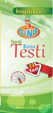 5.Sınıf İngilizce Yaprak Konu Testi (22 Test)