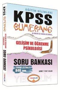 KPSS Eğitim Bilimleri Bumerang Gelişim ve Öğrenme Psikolojisi