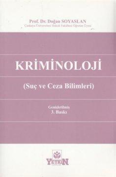 Kriminoloji (Suç ve Ceza Bilimleri)