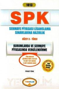 SPK 1013 Kurumlarda ve Sermaye Piyasasında Vergilendirme