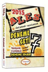 ALES Tamamı Çözümlü 7 Deneme Sınavı 2015