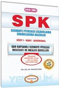SPK 1001 Dar Kapsamlı Sermaye Piyasası Mevzuatı ve Meslek Kuralları
