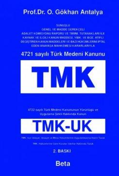 4721 Sayılı Türk Medeni Kanunu - TMK