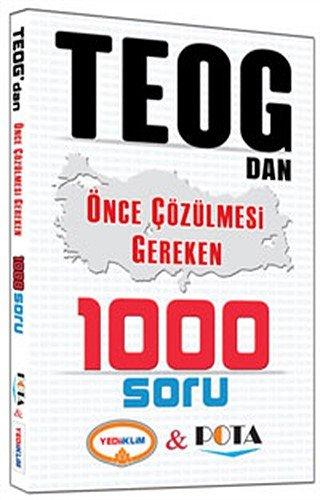 TEOG dan Önce Çözülmesi Gereken 1000 Soru