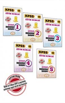 KPSS Eğitim Bilimleri 5 Yıldızlı 5 Fasikül Çözümlü Deneme 2015