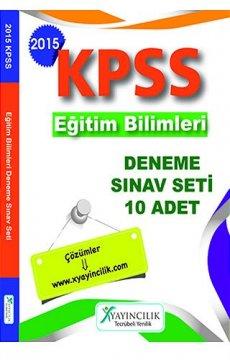 KPSS Eğitim Bilimleri 10 Deneme Sınav Seti 2015