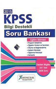 KPSS Eğitim Bilimleri Soru Bankası 2015