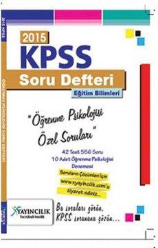 KPSS Eğitim Bilimleri Öğrenme Psikolojisi Soruları 2015