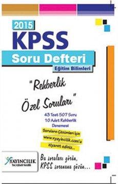 KPSS Eğitim Bilimleri Rehberlik Özel Soruları 2015