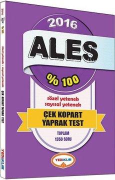 2016 ALES Çek Kopart Yaprak Test  | Sözel - Sayısal Yetenek