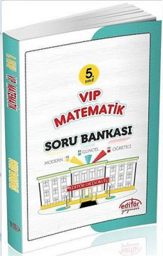 5. Sınıf VIP Matematik Soru Bankası 2015