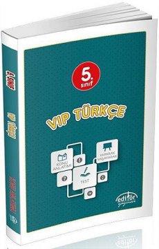 5. Sınıf VIP Türkçe Konu Anlatımlı 2015