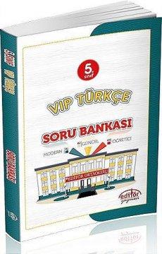 5. Sınıf VIP Türkçe Soru Bankası 2015