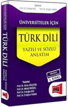 Üniversiteler İçin Türk Dili | Sözlü ve Yazılı Anlatım