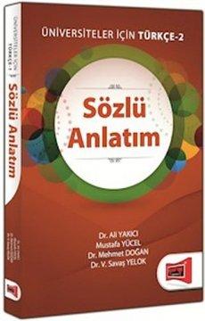 Sözlü Anlatım | Üniversiteler İçin Türkçe - 2