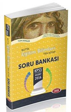 2016 KPSS Butik Eğitim Bilimleri Soru Bankası