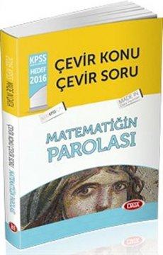 2016 KPSS Çevir Konu Çevir Soru Matematiğin Parolası