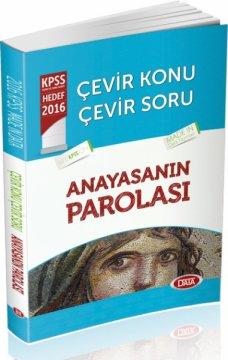 2016 KPSS Çevir Konu Çevir Soru Anayasanın Parolası