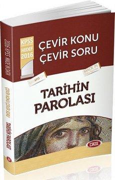 2016 KPSS Çevir Konu Çevir Soru Tarihin Parolası
