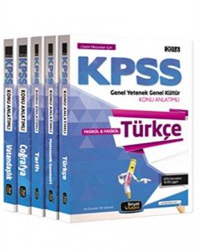 2016 KPSS Genel Yetenek Genel Kültür Konu Anlatımlı Modüler Set