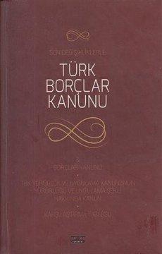 Türk Borçlar Kanunu   Cep Boy
