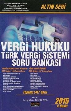 Vergi Hukuku Türk Vergi Sistemi Soru Bankası
