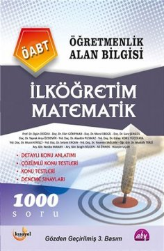 ÖABT Öğretmenlik Alan Bilgisi İlköğretim Matematik