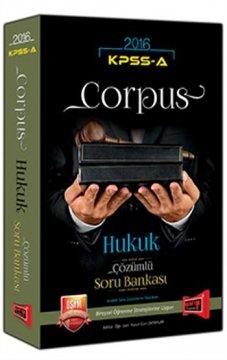 KPSS A Grubu Corpus Hukuk Çözümlü Soru Bankası 2016