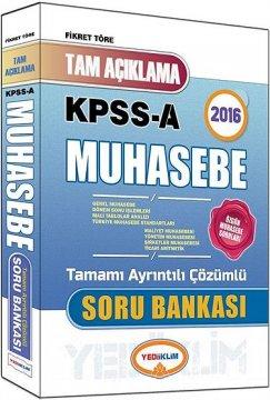 KPSS A 2016 Muhasebe Tam Açıklamalı Soru Bankası