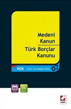 Medeni Kanun - Türk Borçlar Kanunu | Cep Boy