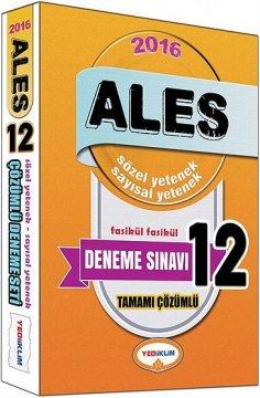 ALES 2016 Tamamı Çözümlü Fasikül 12 Deneme Sınavı