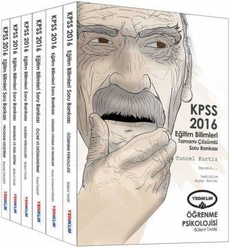KPSS 2016 Eğitim Bilimleri Tamamı Çözümlü Modüler Soru Bankası Seti