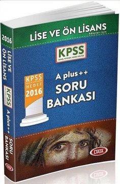 KPSS Lise Ön Lisans A Plus ++ Soru Bankası 2016