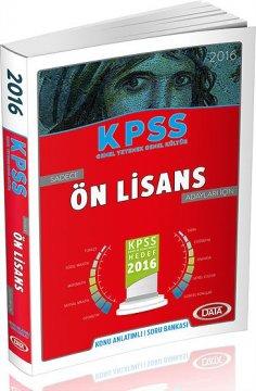 KPSS Sadece Ön Lisans Adayları İçin Konu Anlatımlı 2016