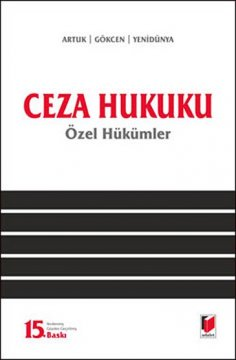 Ceza Hukuku (Özel Hükümler)