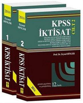 KPSS İktisat Çıkmış Sorular | 2 Cilt
