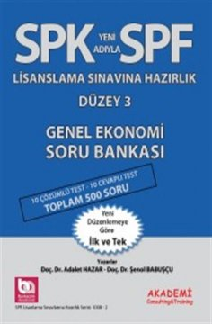 SPF Genel Ekonomi Soru Bankası | Düzey 3