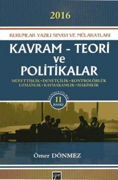 Kurumlar Yazılı Sınavı ve Mülakatları Kavram Teori ve Politikalar