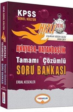2016 KPSS Genel Kültür Anayasa Vatandaşlık Tamamı Çözümlü Soru Bankası