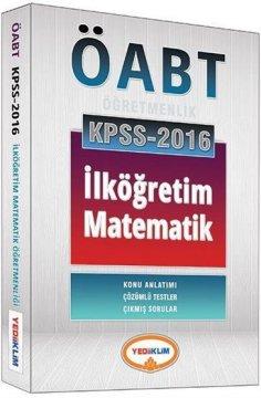 2016 ÖABT İlköğretim Matematik Öğretmenliği Konu Anlatımlı
