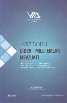 1453 Soru Gider - Milli Emlak Mevzuatı