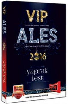 ALES Vıp Yaprak Test 2016