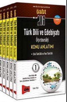 KPSS ÖABT Türk Dili ve Edebiyatı Öğretmenliği Konu Anlatımlı Modüler Set 2016