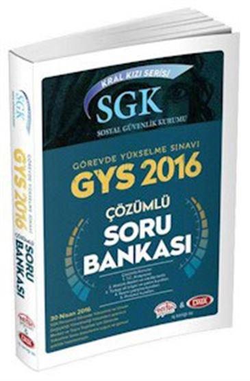 GYS SGK Kral Kızı Serisi Sosyal Güvenlik Kurumu Çözümlü Soru Bankası 2016