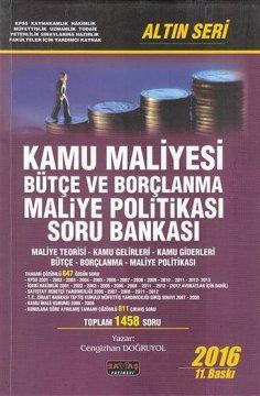 Kamu Maliyesi Bütçe ve Borçlanma Maliye Politikası Soru Bankası