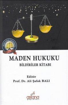 Maden Hukuku Bildiriler Kitabı