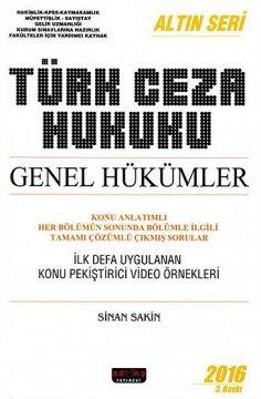 """""""Türk Ceza Hukuku Genel Hükümler"""""""