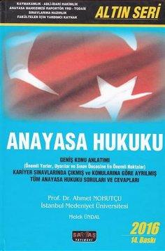 """""""Altın Seri, Anayasa Hukuku"""""""
